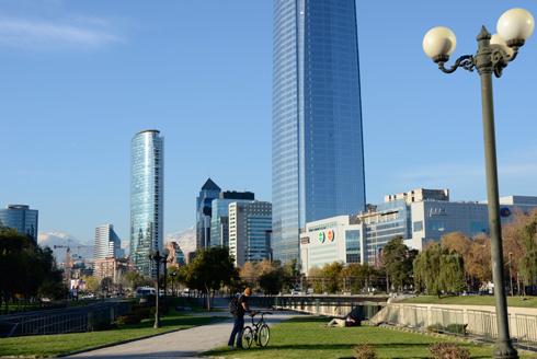 Reiseziel Santiago De Chile